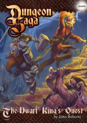 The Dwarf King's Quest – Novel Digital
