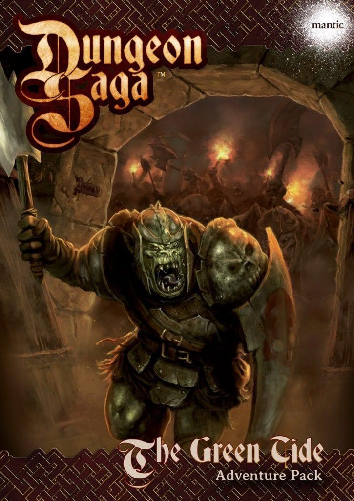 Dungeon Saga: The Green Tide Adventure Pack Digital