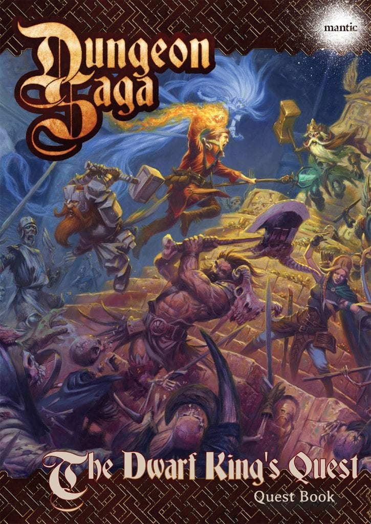 Dungeon Saga: The Dwarf King's Quest Adventure Pack Digital