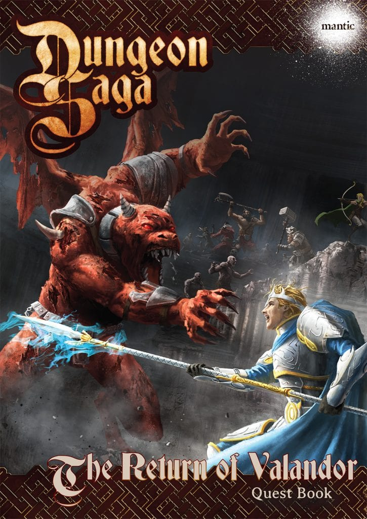 Dungeon Saga: The Return of Valandor Adventure Pack Digital