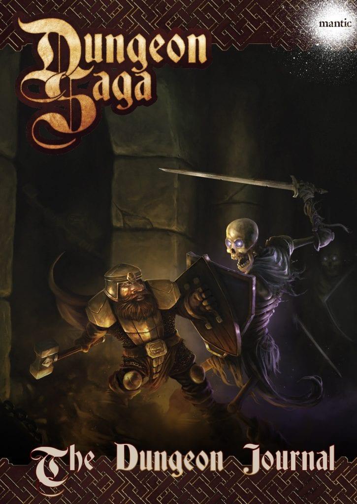 Dungeon Saga: Dungeon Journal Digital