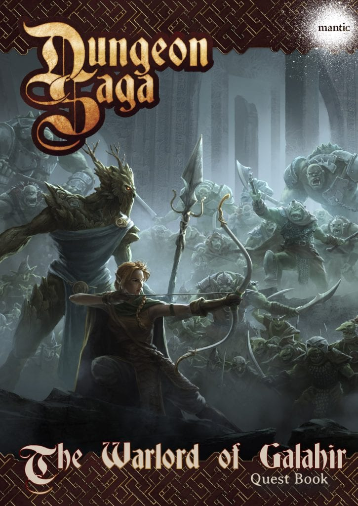 Dungeon Saga: The Warlord of Galahir Adventure Pack Digital