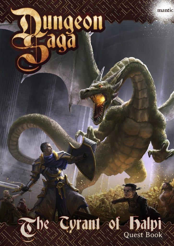 Dungeon Saga: The Tyrant of Halpi Adventure Pack Digital
