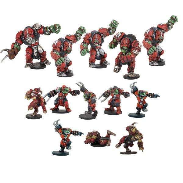 Greenmoon Smackers Marauder Team