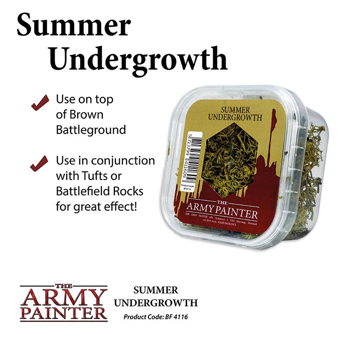 Army Painter Battlfields Summer Undergrowth