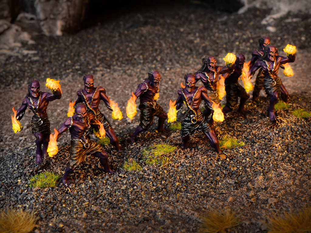 Forces of the Abyss Tortured Soul Regiment (Mantic Direct)