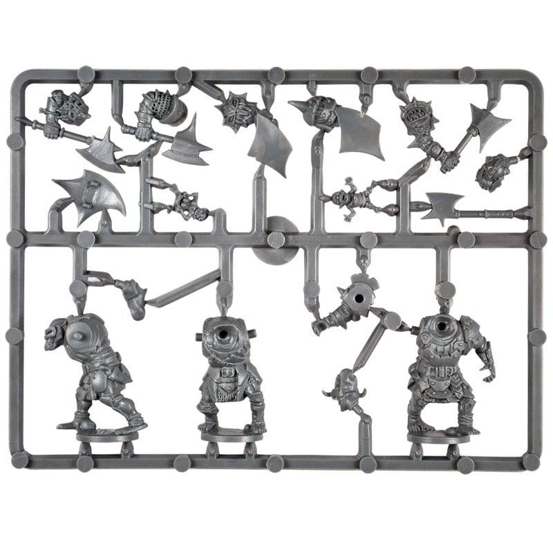 Plastic Frame Orc Ax Troop