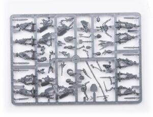 Plastic Frame Undead Revenant Command Troop (Mantic Direct)