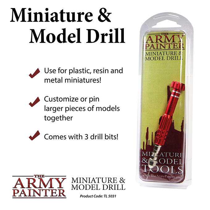 Army Painter Tool Miniature and Model Drill