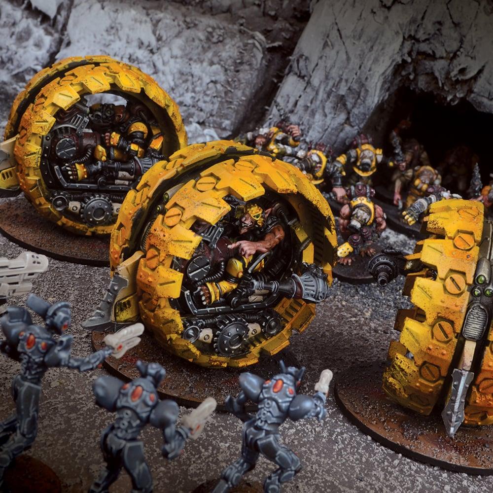 Veer-myn Tunnel Runner Formation