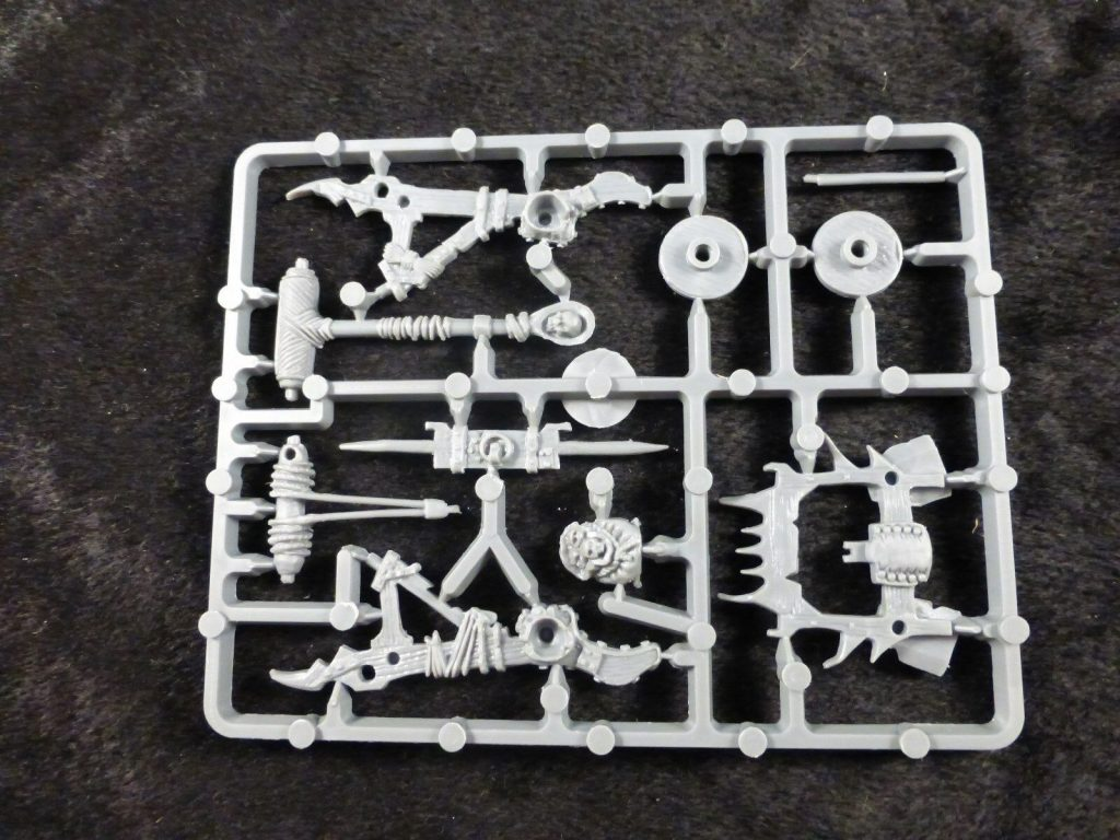 Plastic Frame Undead Balefire Catapult