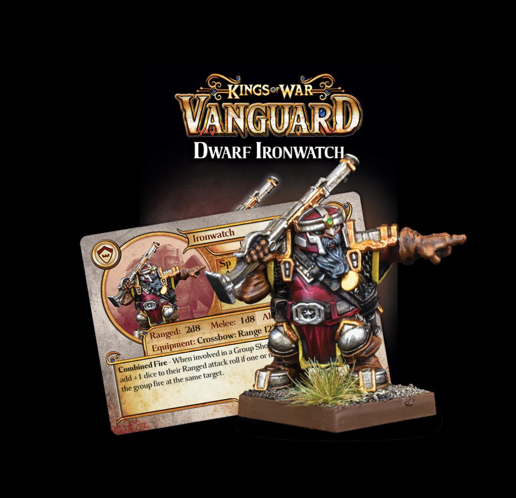 Dwarf Support Pack Ironwatch
