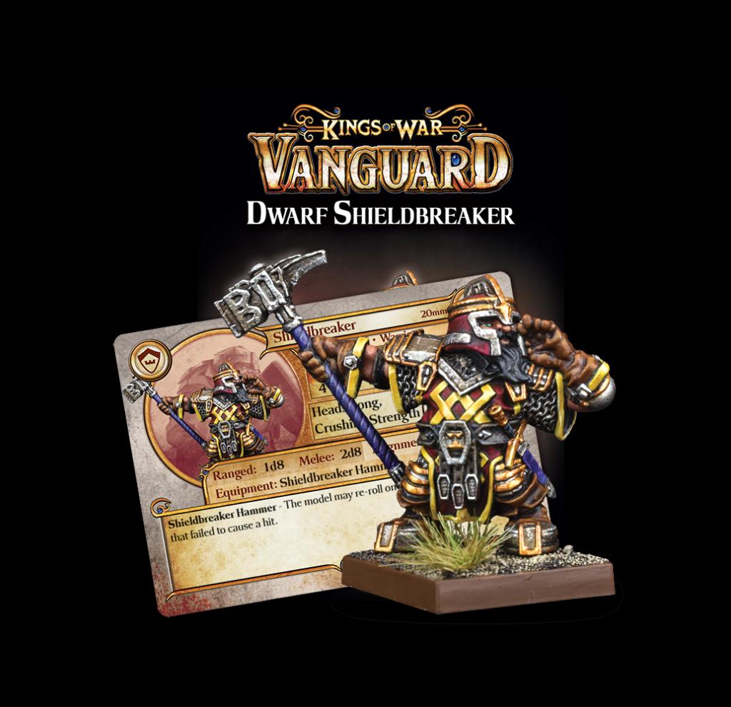 Dwarf Support Pack Shieldbreaker