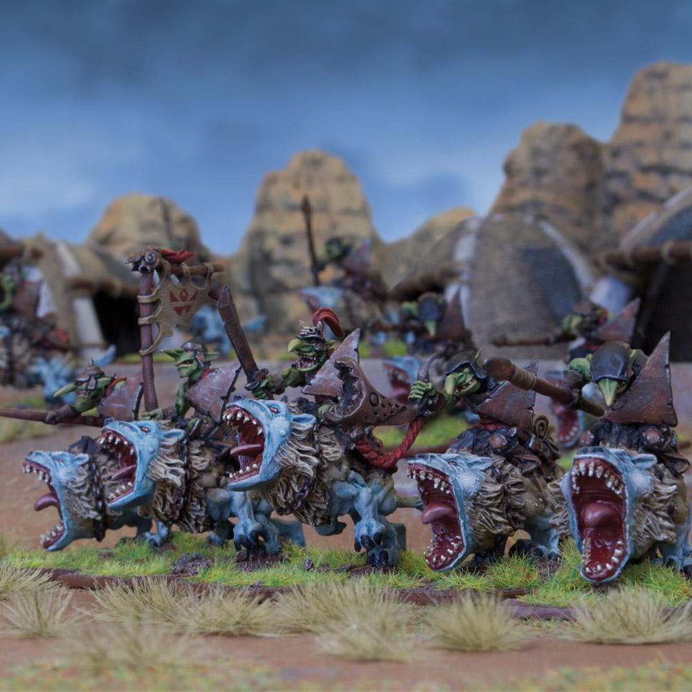 Goblin Fleabag Rider Regiment