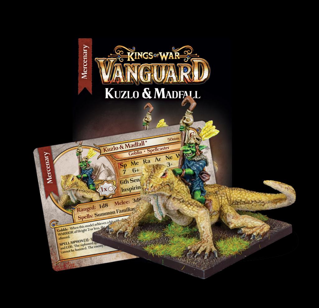 Kuzlo and Madfall Mercenary Booster