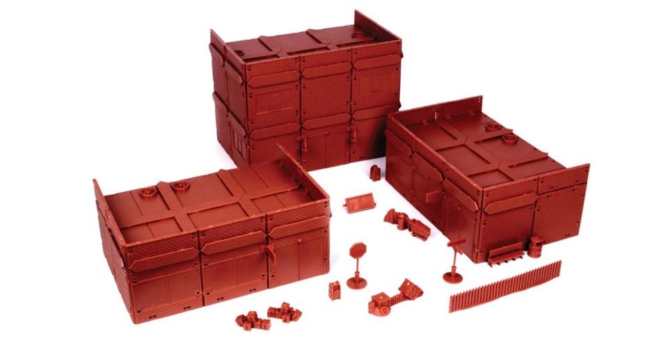 Red Brick Terrain Town Centre