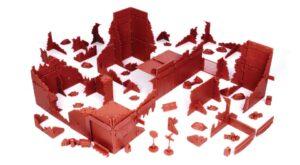 Red Brick Terrain Ruined Town