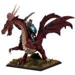 Mantic Games Elf Lord on Battle Dragon