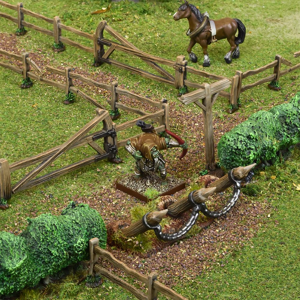 Battlefield Fences & Hedges