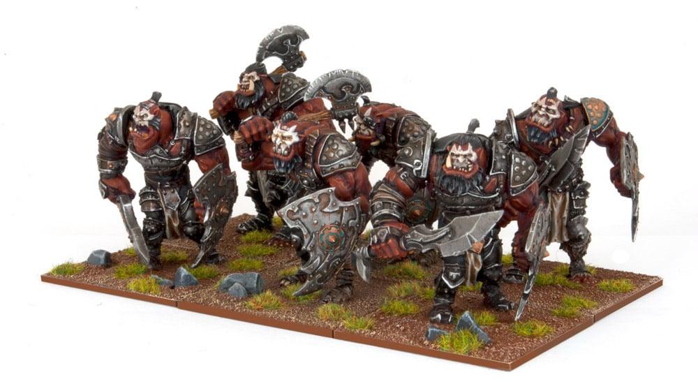 Ogre Warriors (HORDE) - Mantic Games