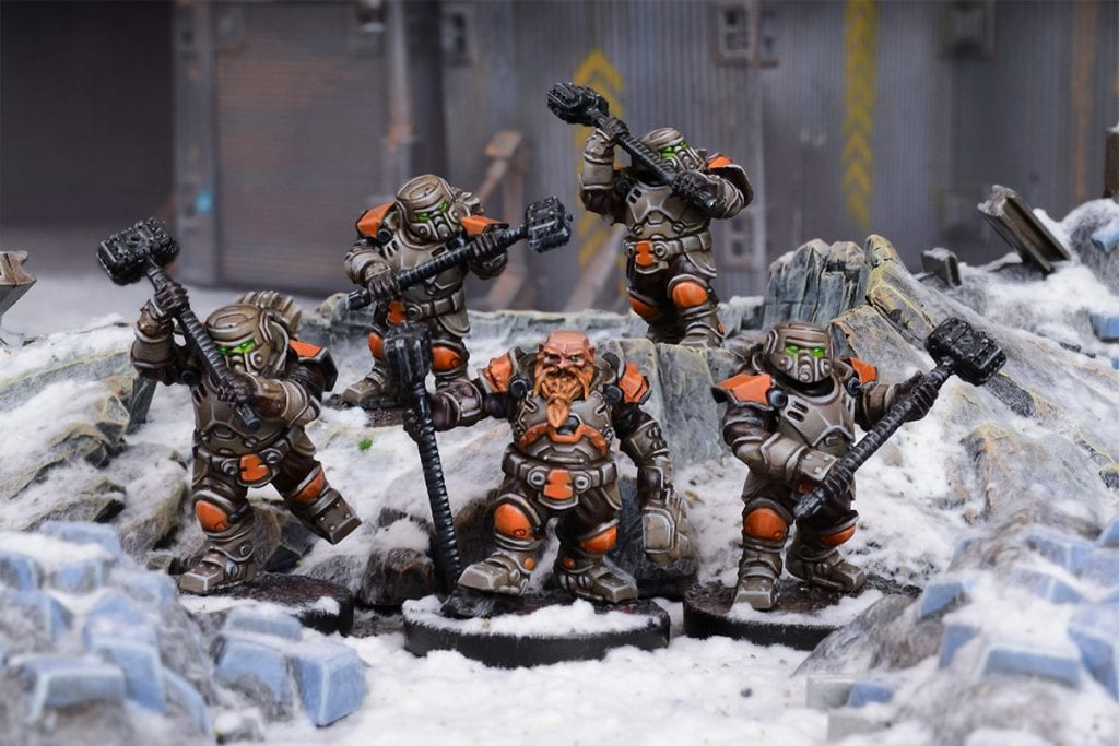 Forge Fathers Thorgarim Team (Mantic Direct)