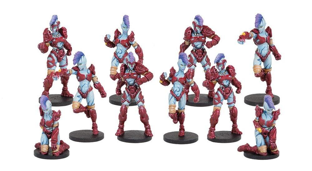 Bremlin Nebulas Kalyshi Team (Mantic Direct)