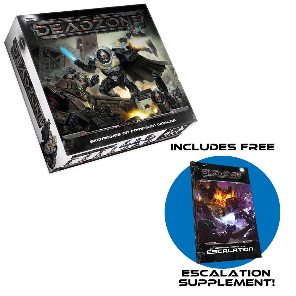 Deadzone 2nd Edition Starter with FREE Escalation supplement