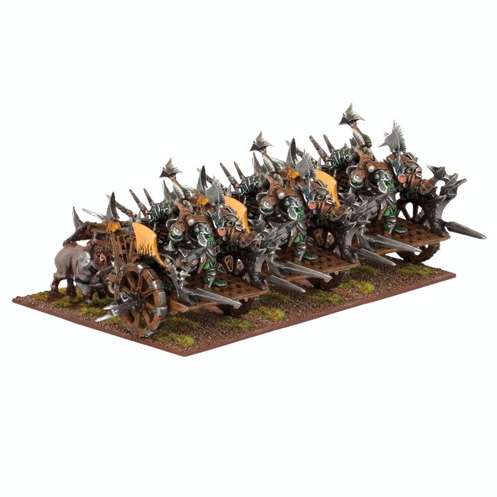 Orc Fight Wagon Regiment / Chariot Regiment