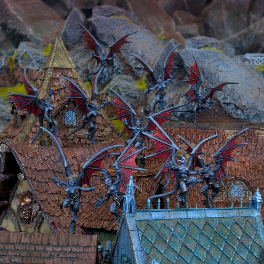 Abyssal Dwarf Gargoyles Troop