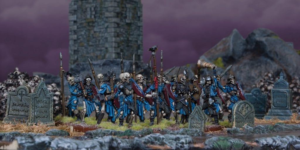 Undead Skeleton Regiment
