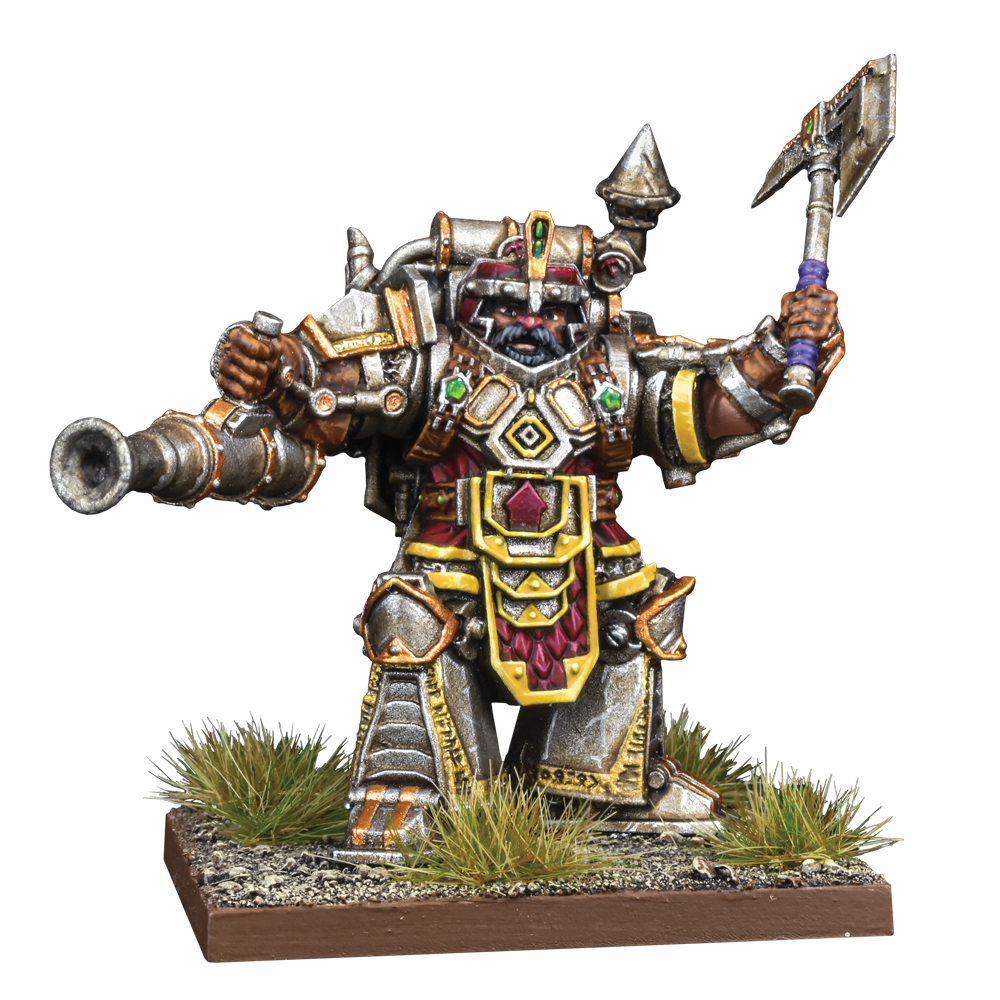 Dwarf Support Pack Steel Juggernaut