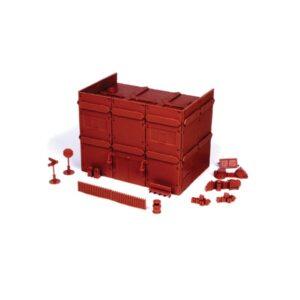 Red Brick Terrain Apartment Block