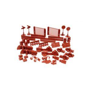 Red Brick Terrain Urban Accessories