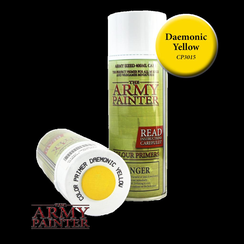 Army Painter Colour Primer Daemonic Yellow