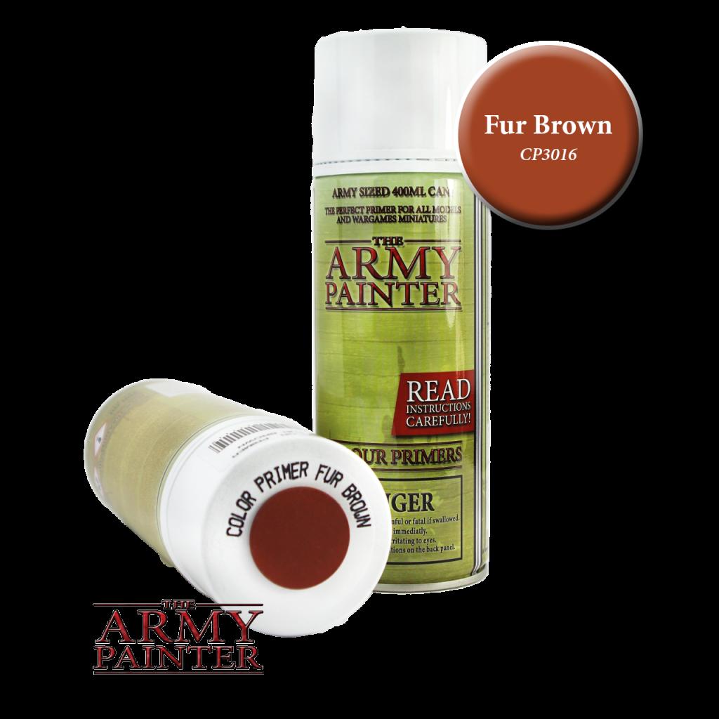 Army Painter Colour Primer Fur Brown