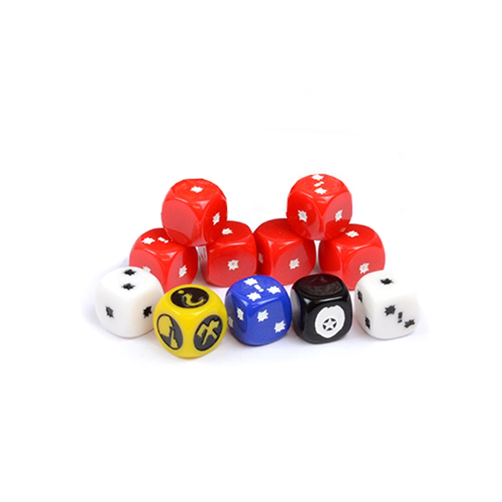 The Walking Dead Dice Booster (2017 version)