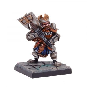 Dwarf King with Axe