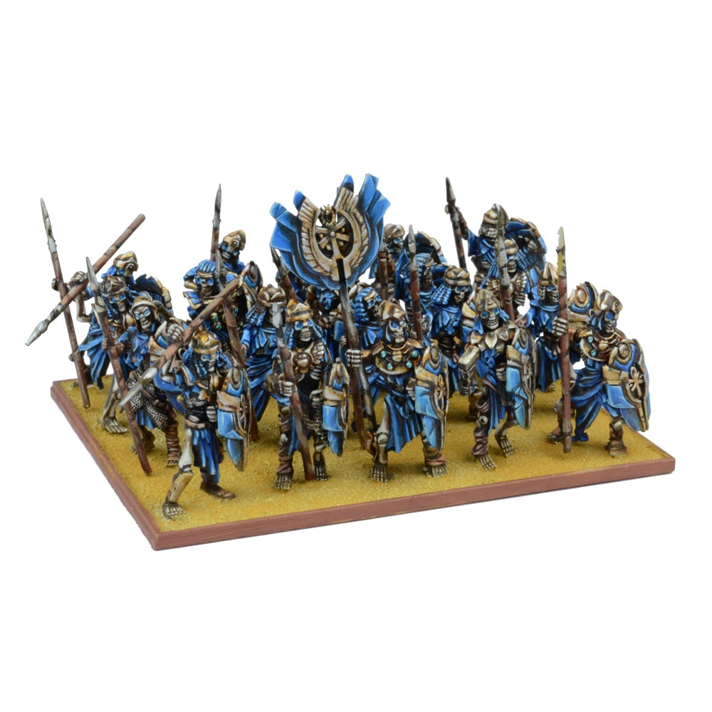 Empire of Dust Skeleton Regiment