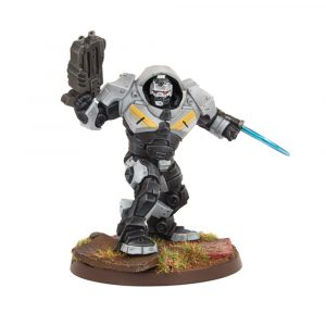Enforcer Captain in Peacekeeper Armour