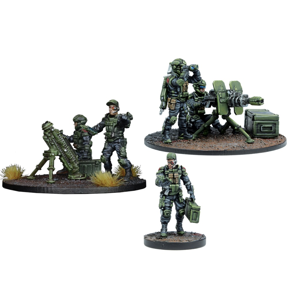GCPS Anti Infantry Weapons Teams