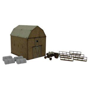 The Walking Dead Greene Family Farm Scenery Kit