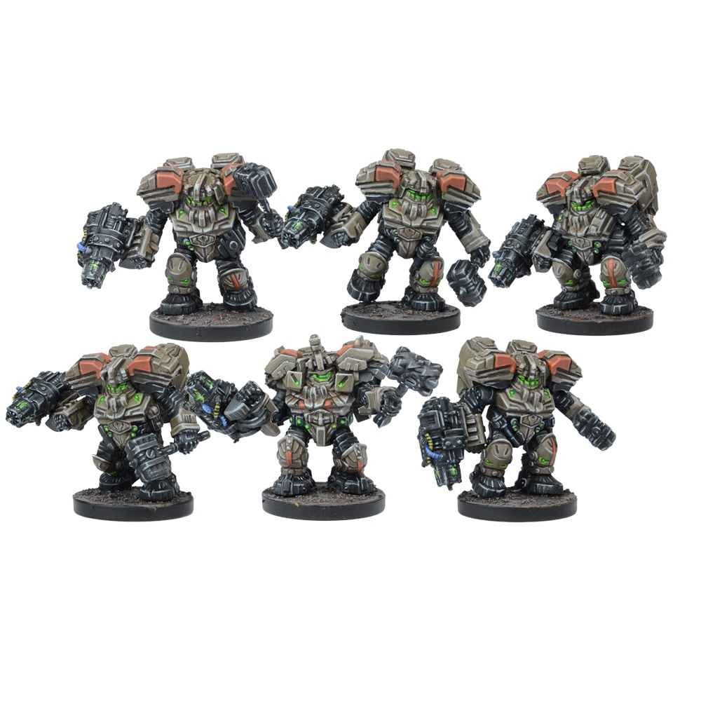 Forge Fathers Hammerfist Drop Team (Mantic Direct)