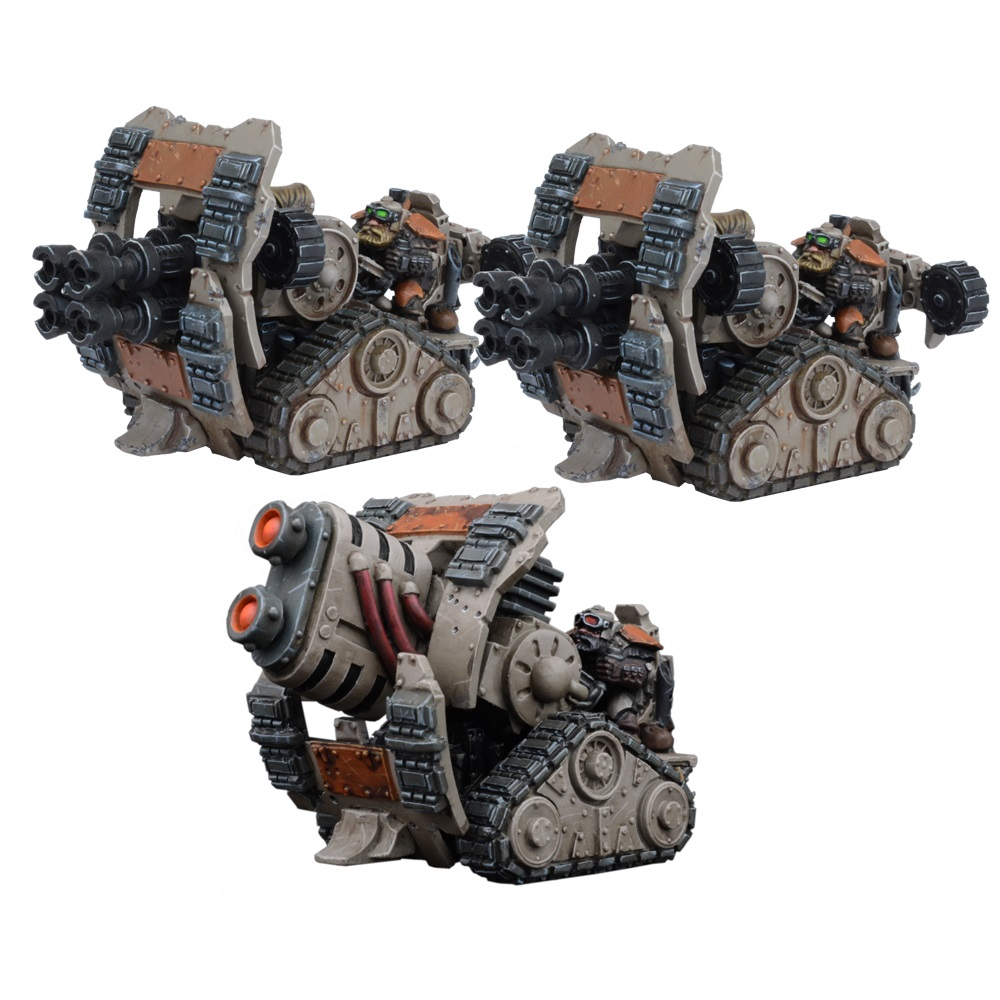 Forge Fathers Weapons Platform Formation