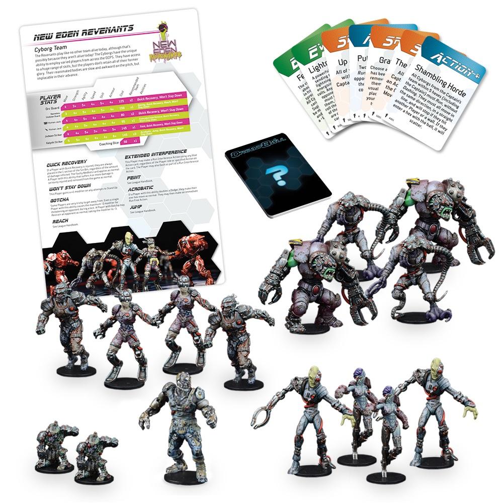 New Eden Revenants Cyborg Team