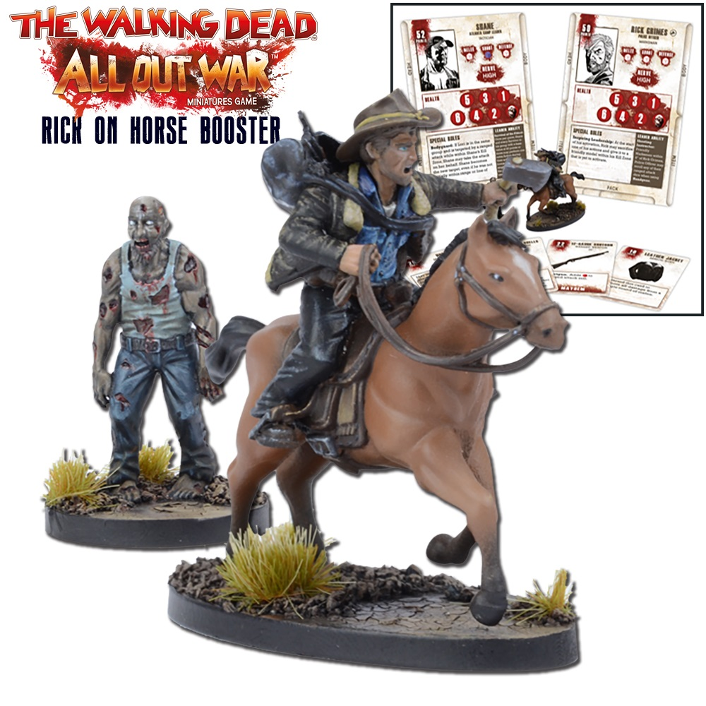 Rick on Horse Booster