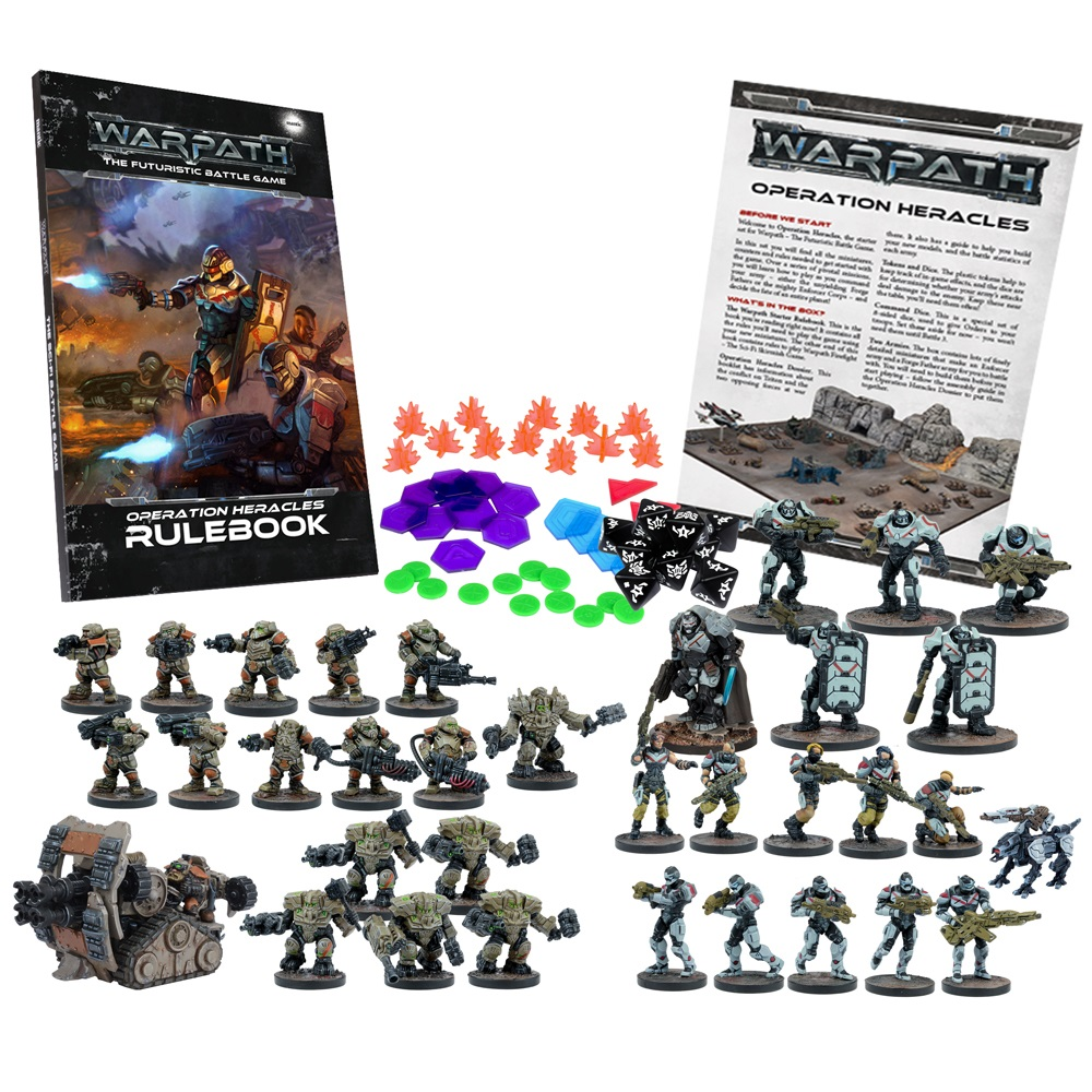 Warpath: Operation Heracles Two Player Battle Set