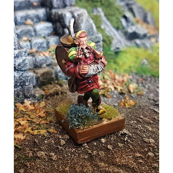 15 Points – Plastic Ronnie the bard