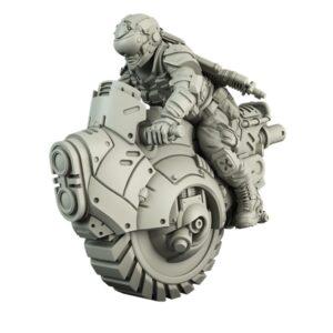 GCPS Mono Cycle Rider