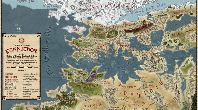 Pannithor Map