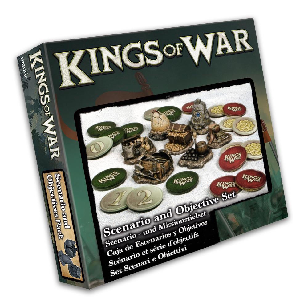 Kings of War Scenario and Objective Set